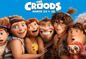 Семейка Крудс, The Croods, Мультфильм, первобытные, дикари