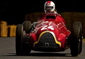 Alfa Romeo, Tipo 159 Alfetta, спорт, машина, гонка