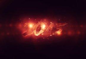 new year, 2015, Новый Год, дед мороз, елка, огни