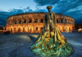 памятник, U Kolezeya, Rome, Колезей, Рим