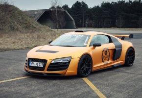 Audi, R8, GT850, тачка, тюнинг, суперкар, красивый, ауди