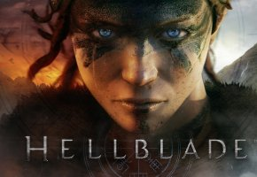 Hellblade, PS4, Game, игра, девушка, воин, взгляд