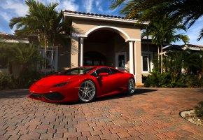 Lamborghini, red, ламборджини, красный, диски