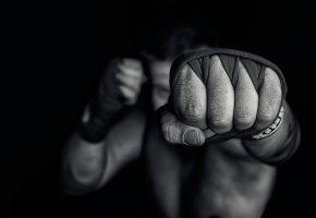 боец, кулак, удар, рука, спорт
