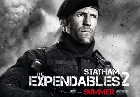 джейсон стэйтем, неудержимые 2, the expendables 2, jason statham, солдат, оружие