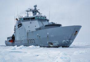 Norway, Норвегия, ледокол, патрульное судно, льды