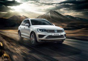 Обои Volkswagen, Touareg, туарег, джип, скорость