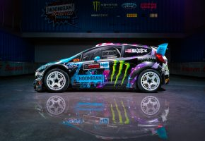 Ford, Fiesta, RX43, Ken, Block, Hoonigan, Racing, Division, Side