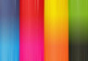 Обои цвета, оранжевый, жёлтый, пурпурный, Синий, голубой, красный