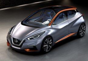 Обои Nissan, Sway, Concept, ниссан, хэтчбек, концепт, городской