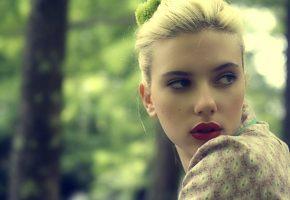 Обои scarlett johansson, actress, blonde, woman, blue, eyes, Скарлетт Йоханссон, актриса