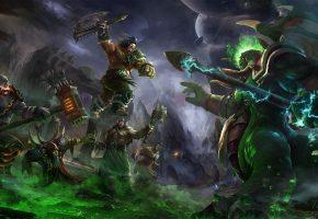 World of Warcraft, Warlords of Draenor, Маннорот, Чернорук, Громмаш, топор, Темный портал, Blizzard
