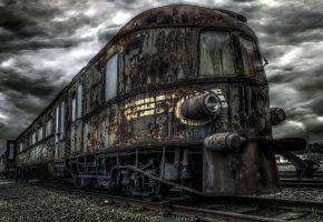 Обои Ghosttrain, железная дорога, поезд, железо, ржавое