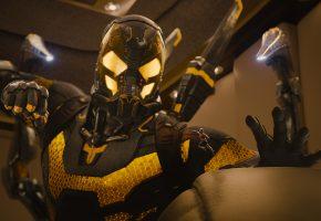 Человек-муравей, Ant-Man, комикс, супергерой, костюм, шлем, удар