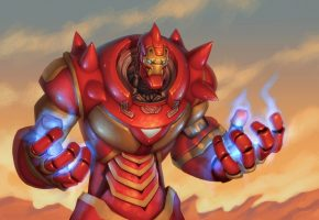 fullmetal alchemist, fan art, броня, iron man