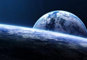 Обои планеты, космос, звёзды