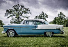 Обои Chevrolet, Bel Air, классика, ретро