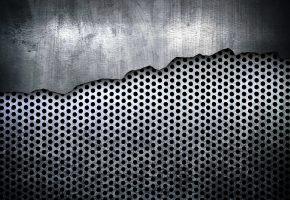 метал, текстура, серый, сталь