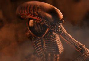 Alien, Чужой, Ксеноморф, существо, тварь, челюсти