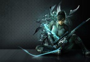 Wanted Weapons of Fate, arana, sniper, девушка, снайпер, оружие