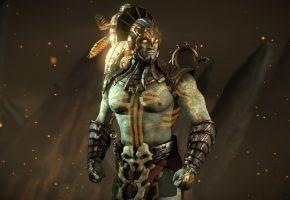 Обои Mortal Kombat X, Kotal Kahn, warrior, MK, Mortal Kombat, MK X
