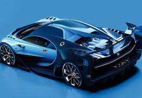Обои Bugatti, Бугатти, Vision, Gran Turismo, гран туризмо