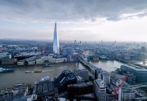 Обои London, Лондон, река, здания, корабли