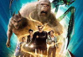 Обои Goosebumps, Jack Black, cinema, big foot, werewolf, wolf, hybrid, magic