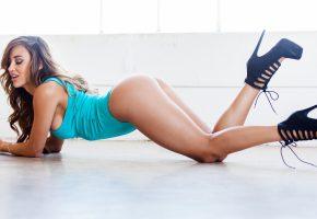 девушка, модель, фигурка, ножки, попка