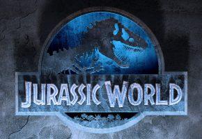 Обои jurassic world, парк юрского периода, динозавр, зубы, надпись