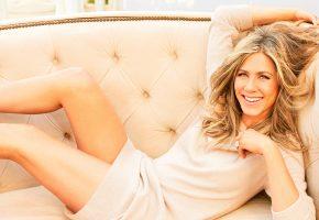 Обои Jennifer Aniston, Дженнифер Анистон, красотка, актриса, улыбка