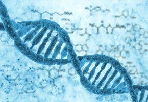 DNA, blue, ДНК, молекула, жизнь
