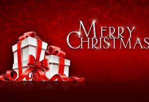 Рождество, Christmas, подарки, presents, лента