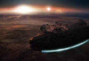 Звёздные войны, Эпизод VII, Пробуждение Силы, космический корабль
