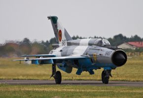 МиГ-21, многоцелевой, истребитель, аэродром