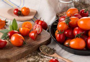 Обои помидоры, томаты, овощи, специи