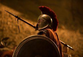 Обои The Legend of Hercules, Геракл Начало легенды, фэнтези, боевик, воин, копье, щит