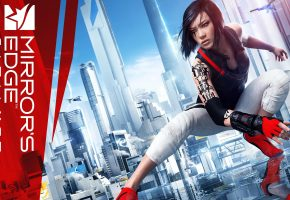 mirrors-edge, catalyst, девушка, город
