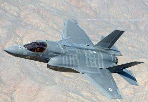 RAF F-35B Lightning ll, самолёт, оружие, полет, крылья, сопло