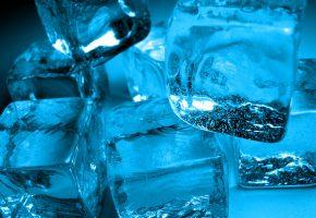 кусочки, холод, Лед, воздух, пузырьки