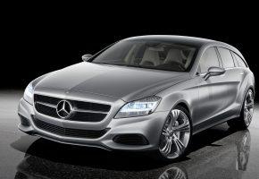 Обои Mercedes-Benzs, concept, хэтчбек, фары