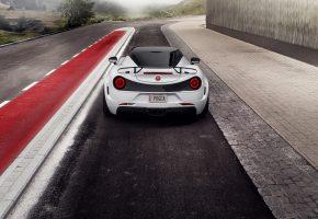 Обои Pogea Racing, Alfa Romeo, 4C, альфа ромео