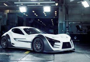 felino cb7, supercar, white, суперкар, белый