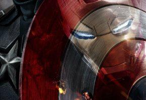 Обои Captain America: Civil War, Первый мститель: Противостояние, Фильм, Iron Man, Captain America
