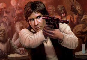 Обои Star Wars, Han Solo, Хан Соло, Оружие