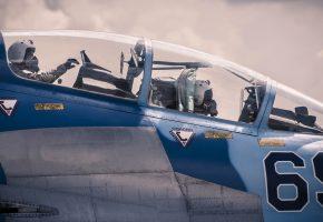 Обои самолет, Су-30, многоцелевой, истребитель, кабина, небо, полет