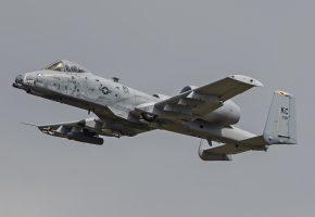 A-10C, Thunderbolt II, штурмовик, полет