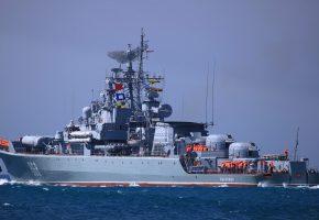 СКР, сторожевой, корабль, Пытливый, проект 1135-М, море, ВМФ