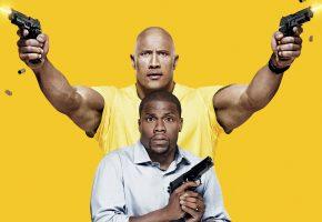 Обои Полтора шпиона, Central Intelligence, боевик, комедия, пистолет, фильм