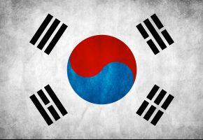 Обои флаг, корея, korea, южная